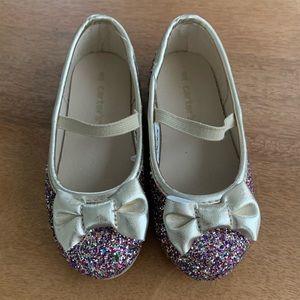 Toddler Girl's Sparkle Ballet Flats